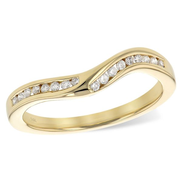 14KT Gold Ladies Wrap/Guard Karen's Jewelers Oak Ridge, TN