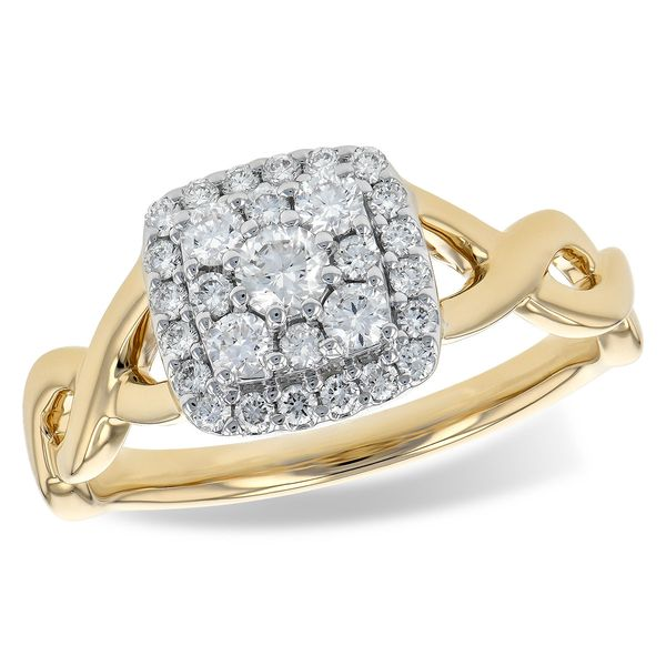 14KT Gold Ladies Diamond Ring Arnold's Jewelry and Gifts Logansport, IN