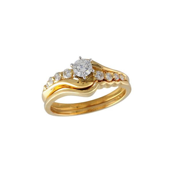 14KT Gold Two-Piece Wedding Set Futer Bros Jewelers York, PA