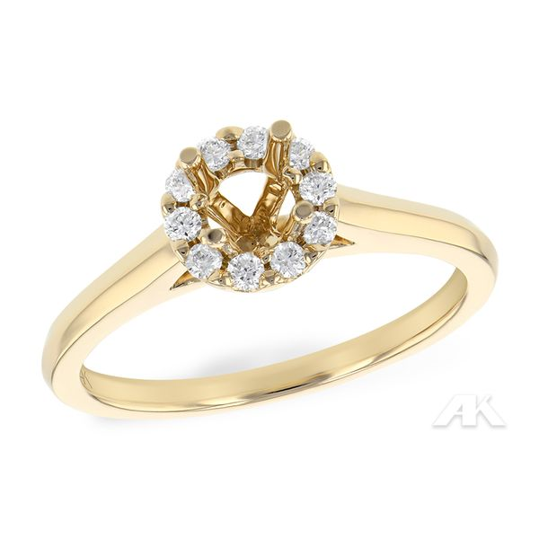 14KT Gold Semi-Mount Engagement Ring Arnold's Jewelry and Gifts Logansport, IN