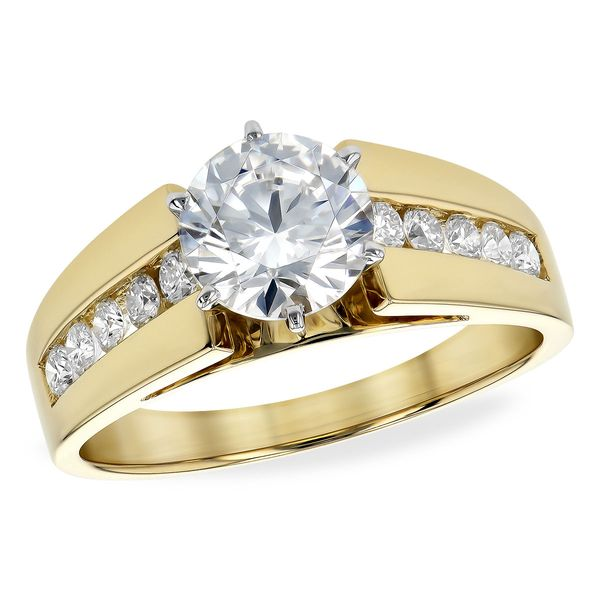 14KT Gold Semi-Mount Engagement Ring Futer Bros Jewelers York, PA