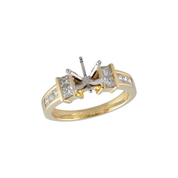 14KT Gold Semi-Mount Engagement Ring I. M. Jewelers Homestead, FL
