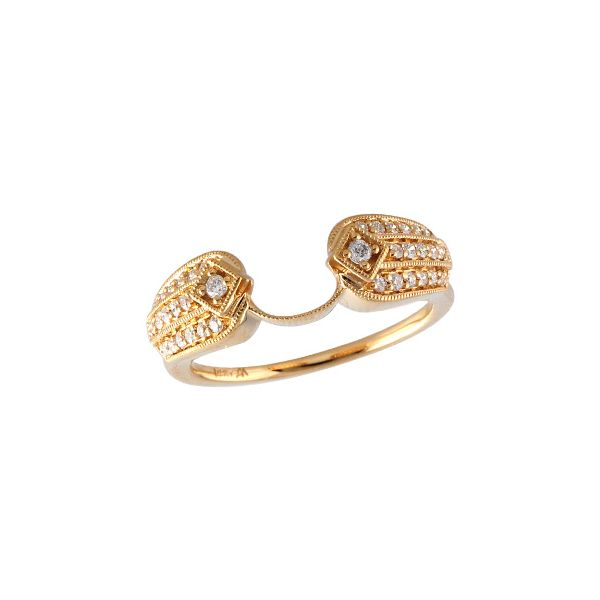 14KT Gold Ladies Wrap/Guard Futer Bros Jewelers York, PA