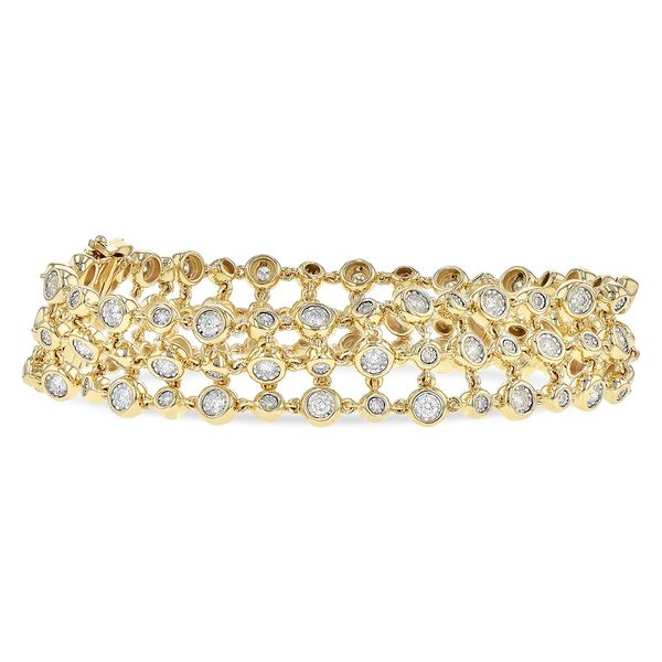 14KT Gold Bracelet Mar Bill Diamonds and Jewelry Belle Vernon, PA
