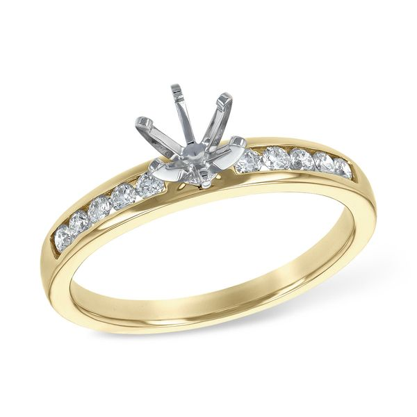 14KT Gold Semi-Mount Engagement Ring Engelbert's Jewelers, Inc. Rome, NY