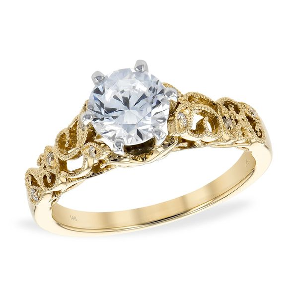 14KT Gold Semi-Mount Engagement Ring Diamond Shop Ada, OK