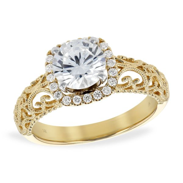 14KT Gold Semi-Mount Engagement Ring The Jewelry Source El Segundo, CA