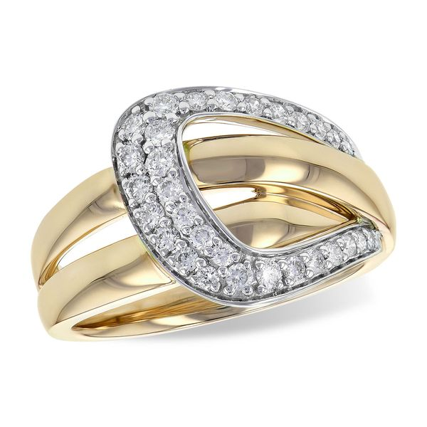 14KT Gold Ladies Diamond Ring Arezzo Jewelers Chicago, IL
