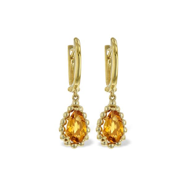 14KT Gold Earrings by Allison Kaufman
