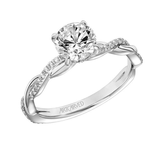 Diamond Engagement Ring by ArtCarved