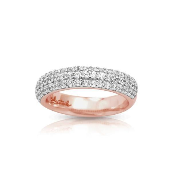 Pave Ring by Belle Etoile
