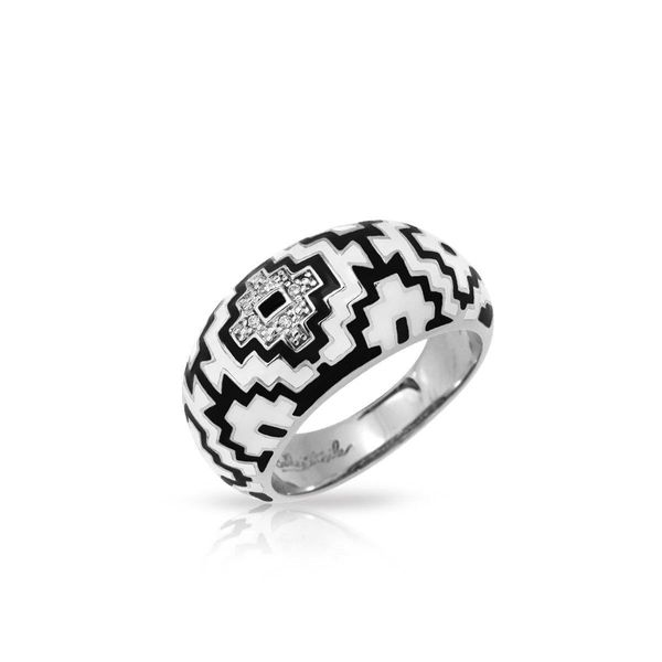 Aztec Ring by Belle Etoile