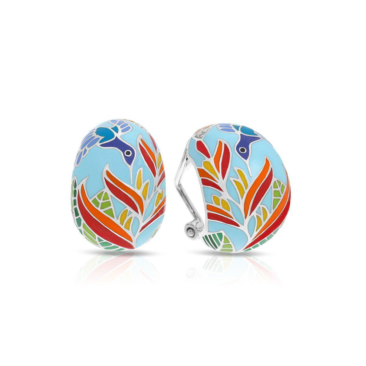 Hummingbird Earrings by Belle Etoile