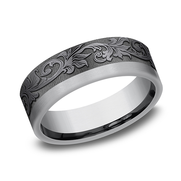 Tantalum Comfort-fit wedding band Simones Jewelry, LLC Shrewsbury, NJ