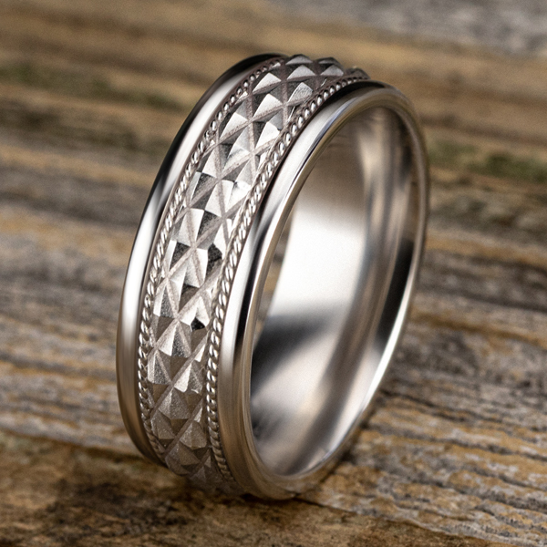 Comfort-Fit Design Wedding Band Image 4 Godwin Jewelers, Inc. Bainbridge, GA