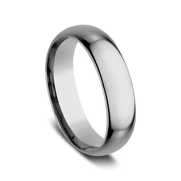 Tungsten Comfort-Fit Design Wedding Band Image 2 Rick's Jewelers California, MD
