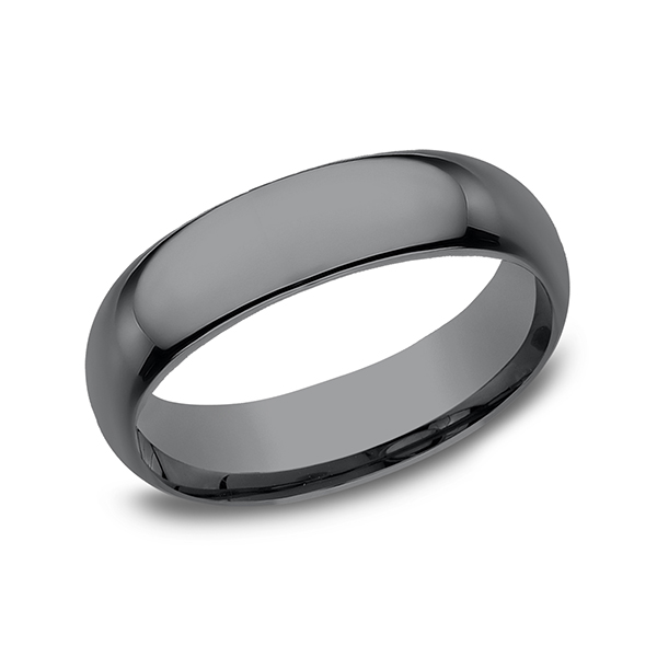 Tantalum Comfort-fit Design Wedding Band by Tantalum