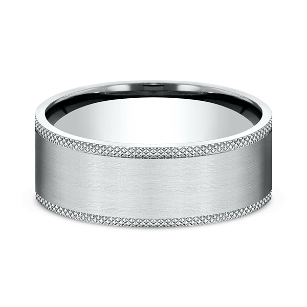 Comfort-Fit Design Wedding Band Image 3 Timmreck & McNicol Jewelers McMinnville, OR