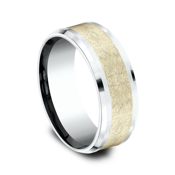 Ammara Stone Comfort-fit Design Ring Image 2 Confer's Jewelers Bellefonte, PA