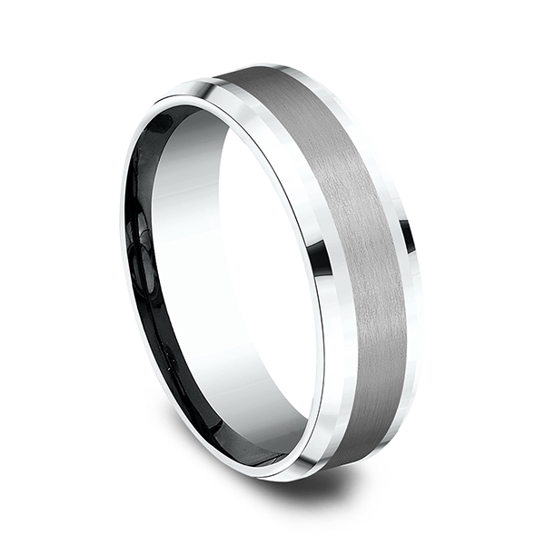 Ammara Stone Comfort-fit Design Ring Image 2 Lake Oswego Jewelers Lake Oswego, OR