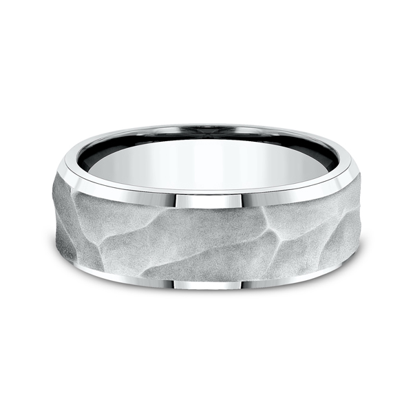 Ammara Stone Comfort-fit Design Ring Image 3 Confer's Jewelers Bellefonte, PA