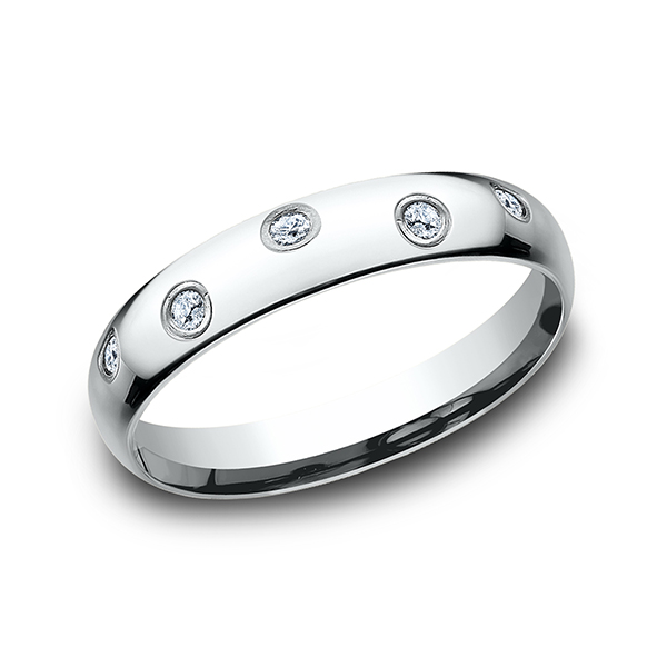 Comfort-Fit Diamond Wedding Ring by Benchmark