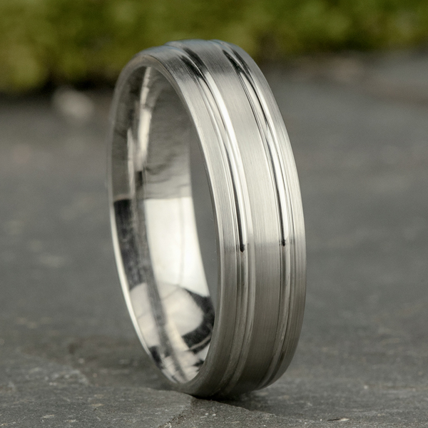 Comfort-Fit Design Wedding Band Image 4 Cowardin's Jewelers Richmond, VA