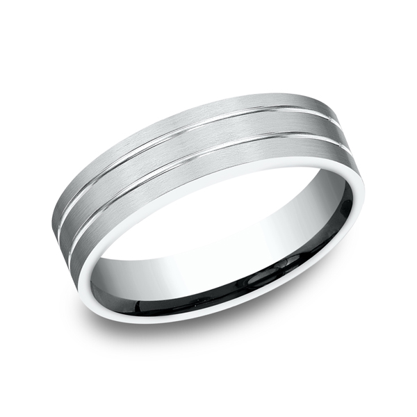 Comfort-Fit Design Wedding Ring Mark Allen Jewelers Santa Rosa, CA