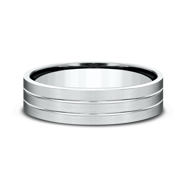 Comfort-Fit Design Wedding Ring Image 3 Mark Allen Jewelers Santa Rosa, CA