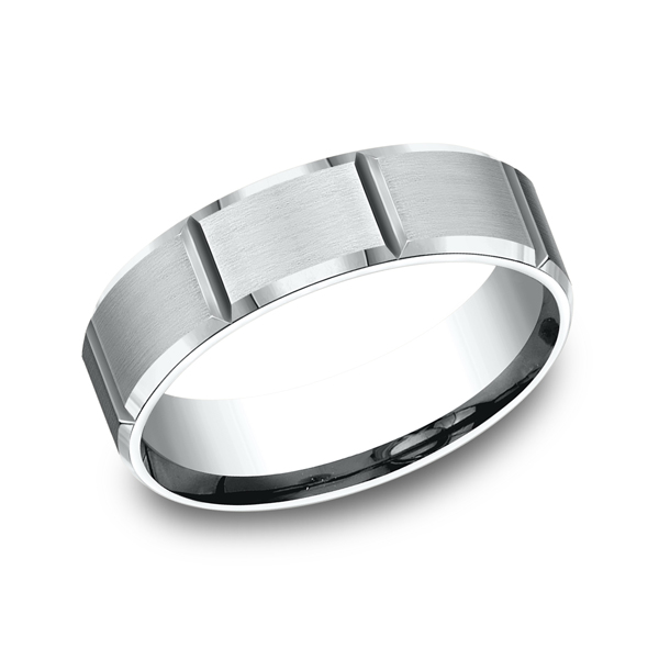 Comfort-Fit Design Wedding Ring Confer's Jewelers Bellefonte, PA