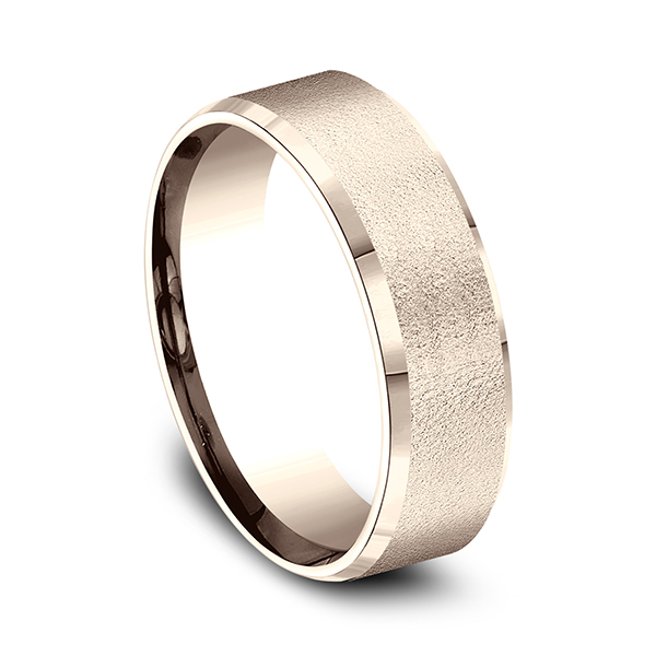 Comfort-Fit Design Wedding Band Image 2 Rialto Jewelry San Antonio, TX