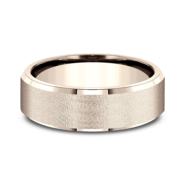 Comfort-Fit Design Wedding Band Image 3 Lake Oswego Jewelers Lake Oswego, OR