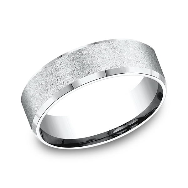 Comfort-Fit Design Wedding Band Rick's Jewelers California, MD