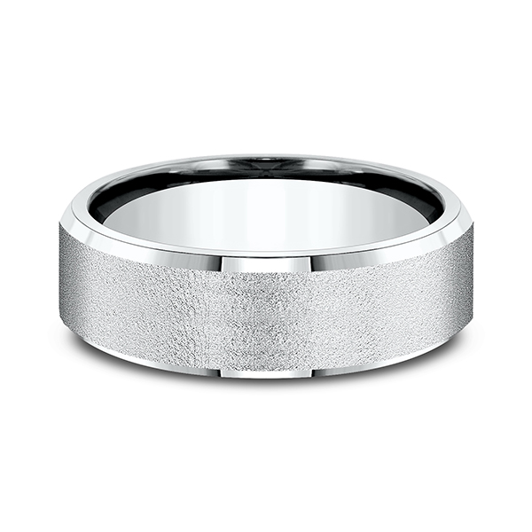Comfort-Fit Design Wedding Band Image 3 Rick's Jewelers California, MD