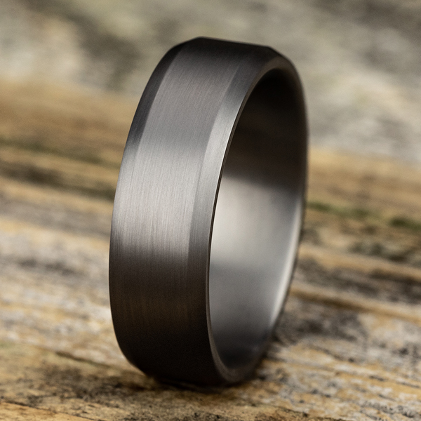 Tantalum Comfort-fit wedding band Image 4 Mitchell's Jewelry Norman, OK