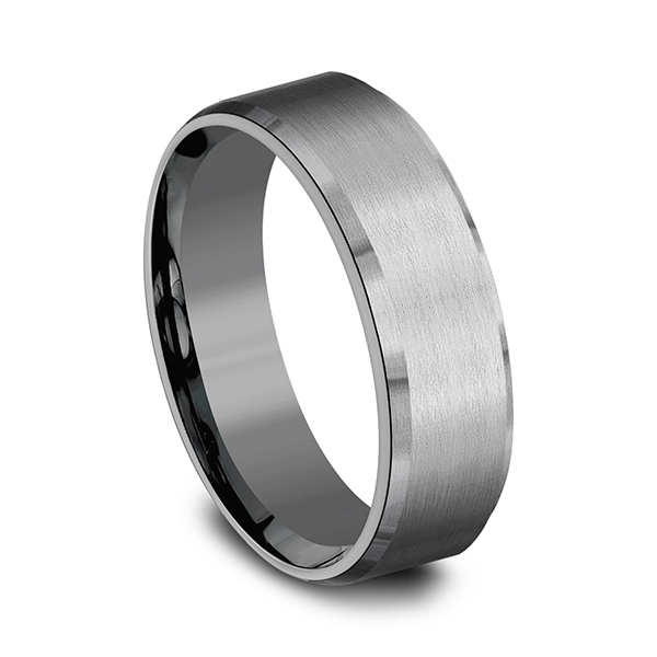 Tantalum Comfort-fit wedding band Image 2 Mitchell's Jewelry Norman, OK