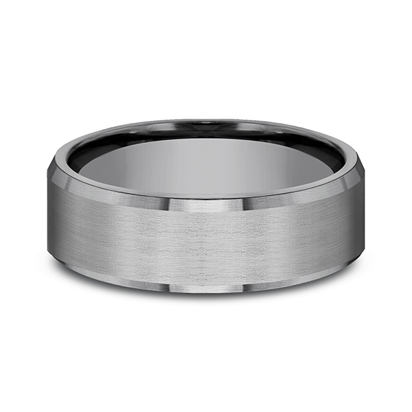 Tantalum Comfort-fit wedding band Image 3 Jones Jeweler Celina, OH