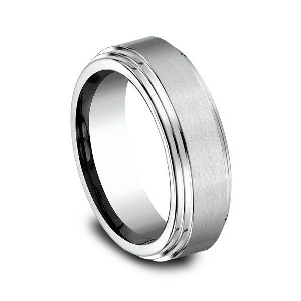 Comfort-Fit Design Wedding Ring Image 2  ,