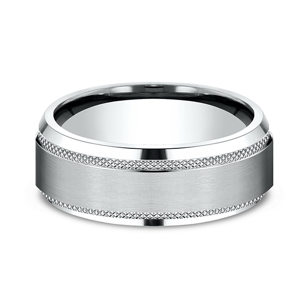 Comfort-Fit Design Wedding Band Image 3 Simones Jewelry, LLC Shrewsbury, NJ