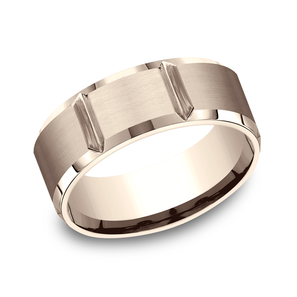 Comfort-Fit Design Wedding Ring by Benchmark