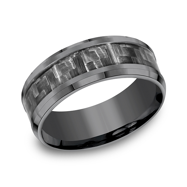 Tantalum Comfort-fit Design Wedding Band Confer's Jewelers Bellefonte, PA