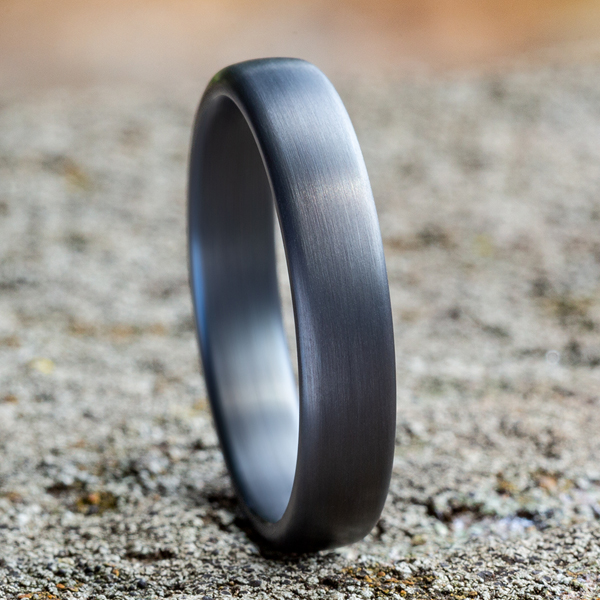 Tantalum Comfort-fit wedding band Image 4 Holliday Jewelry Klamath Falls, OR