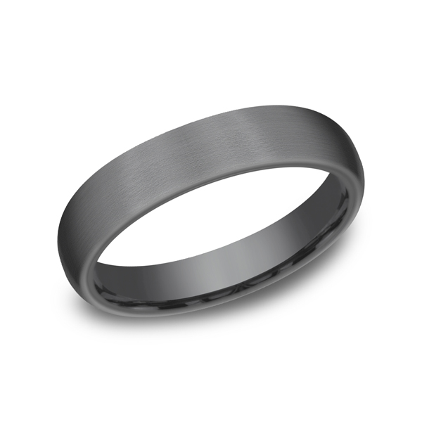 Men's Wedding Bands - Tantalum Comfort-fit wedding band