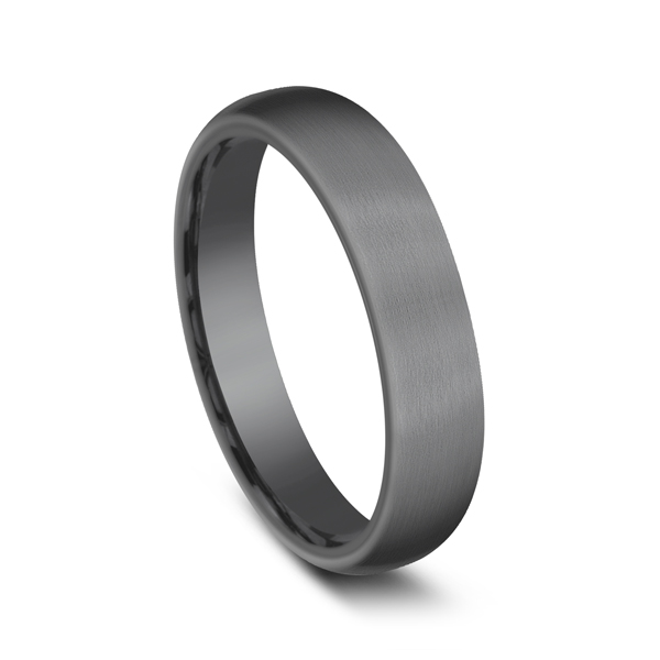 Men's Wedding Bands - Tantalum Comfort-fit wedding band - image #2