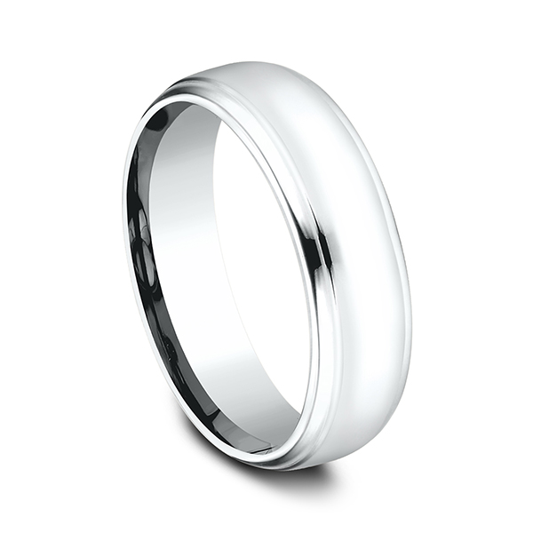 Comfort-Fit Design Wedding Band Image 2 The Stone Jewelers Boone, NC