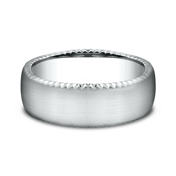 Comfort-Fit Design Wedding Band Image 3 Jones Jeweler Celina, OH