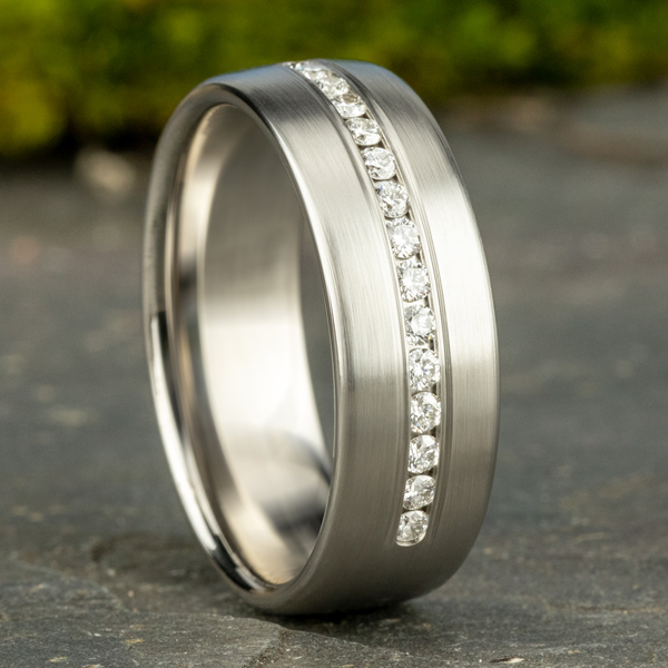 Men's Wedding Bands - Browse our Wedding Ring Collection Online or Visit our Sausalito Showroom. - image #4