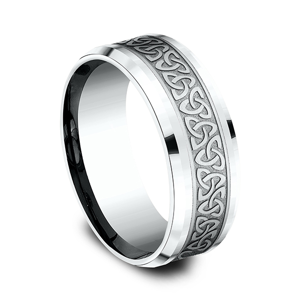 Comfort-Fit Design Wedding Band Image 2  ,