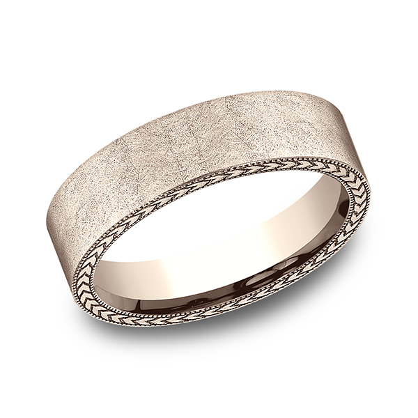 Comfort-Fit Design Wedding Band Rialto Jewelry San Antonio, TX