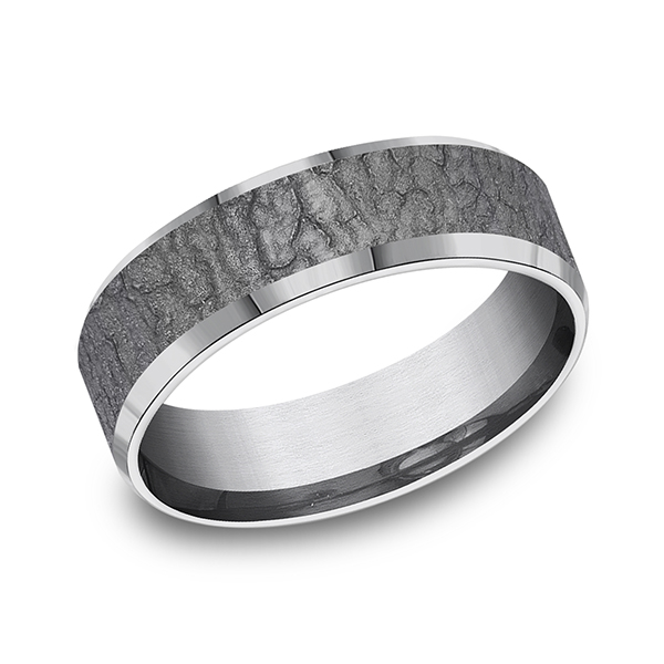Tantalum Comfort-fit wedding band Lake Oswego Jewelers Lake Oswego, OR
